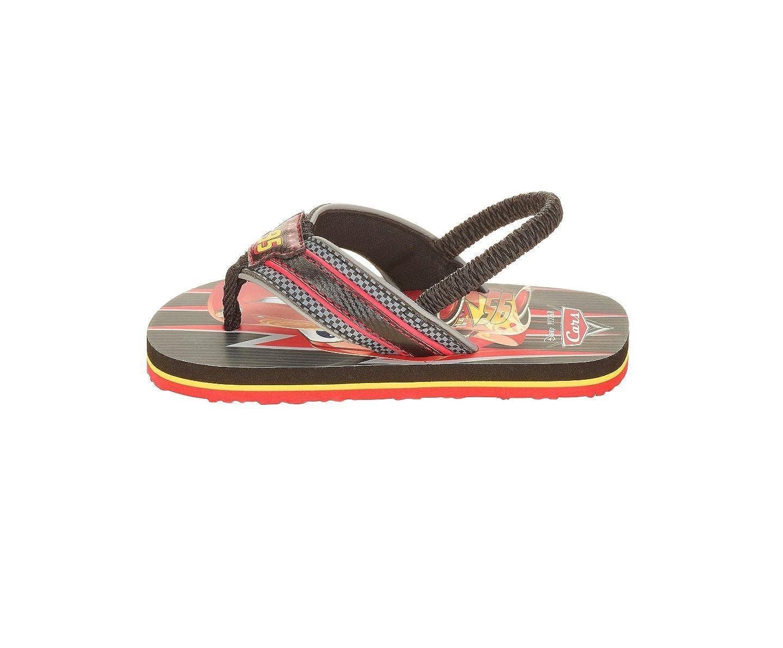 0fdcae69b Amazon.com  ACI Cars Lightning McQueen Boys Beach Sandals Summer Flip Flops  5 6  Shoes