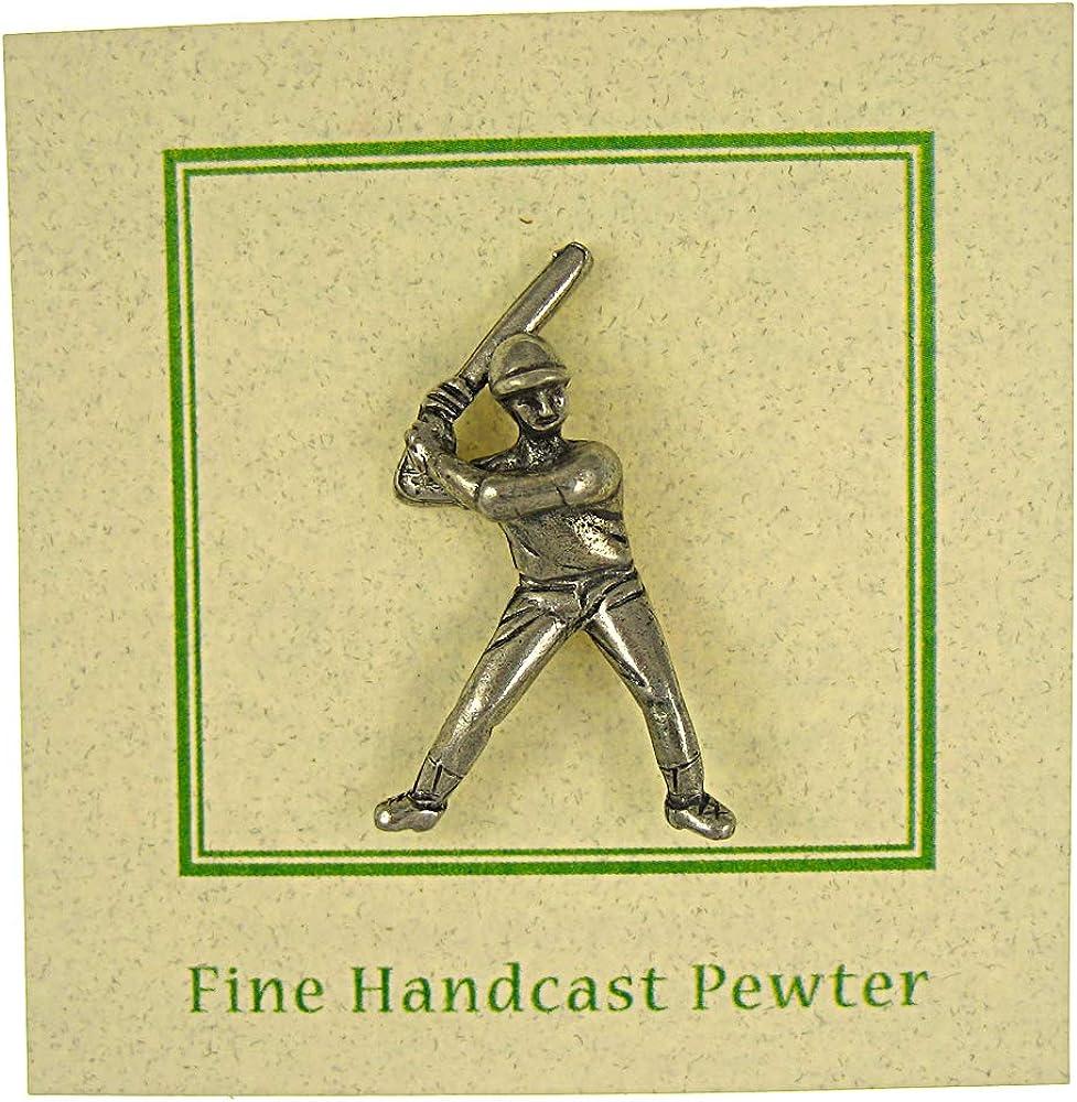 Jim Clift Design Baseball Player Lapel Pin