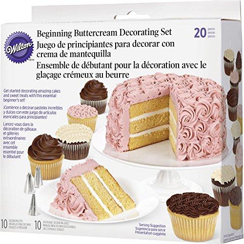 Wilton 2104-1367 20-Piece Buttercream Basics Decorating Set