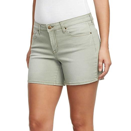 57887ec0a Jessica Simpson Ladies' Rolled or Unrolled Cuff Denim Short (8, Deep ...