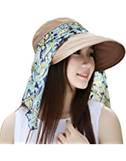 BBestseller Verano Plegable ala Ancha Mujer Sombrero de Playa,Playa de Verano Sombrero de Sol Visera de Gorra Vacaciones
