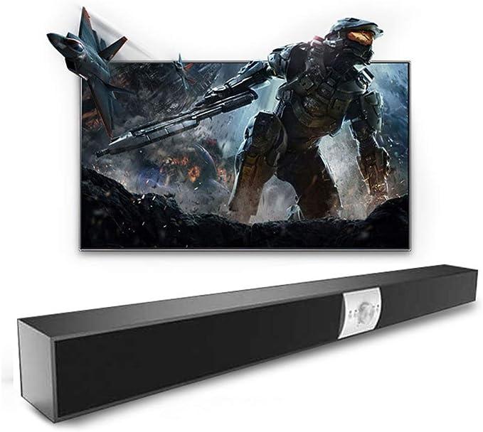 Barra de Sonido para la televisión, Altavoz Portátil Bluetooth, Dual Altavoces con Control Remoto, para la TV, PC, teléfono Celular, del hogar Barra de Sonido: Amazon.es: Hogar