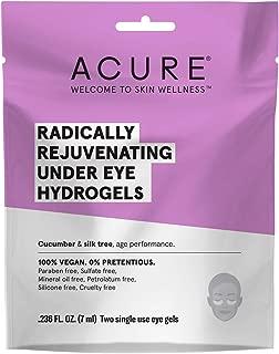 product image for ACURE Radically Rejuvenating Under Eye Hydrogel Mask | 100% Vegan | Provides Anti-Aging Support | Cucumber & Silk Tree - Hydrates & Rejuvenates | 12 Count