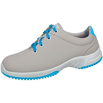 Abeba 6782 uni6 Halbschuh grau/ blau - O2 SRC - Berufsschuhe