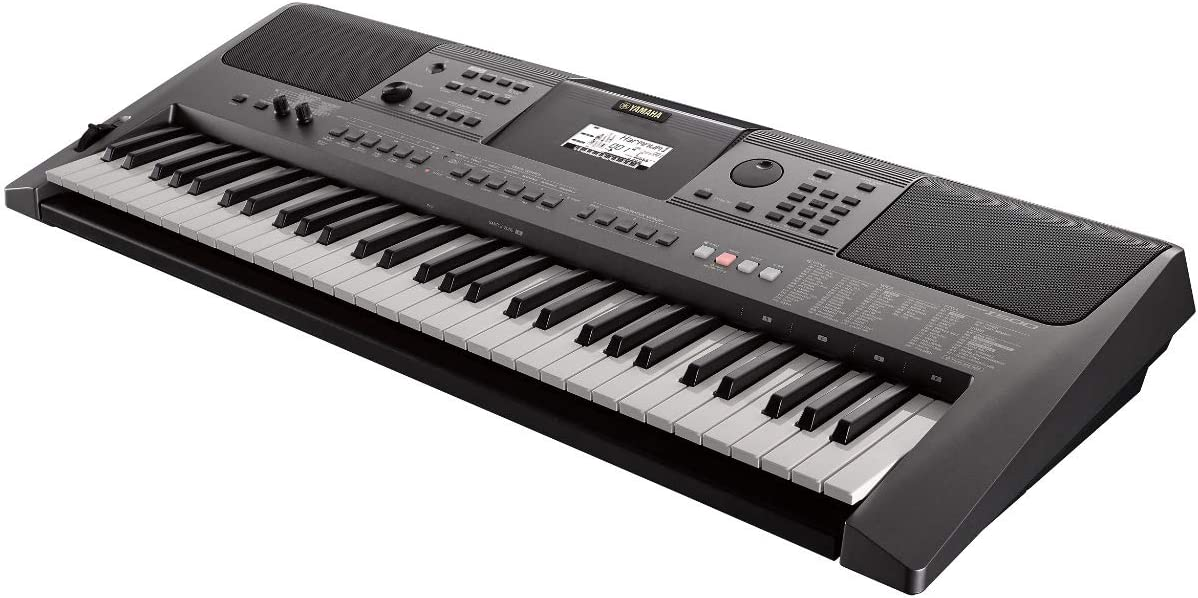 Yamaha PSR-I500 Portable Keyboard for Indian Music with phones footswitch and flash drive