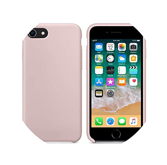 Amazon.com: Original Official Silicone Case for iPhone 7 8 ...