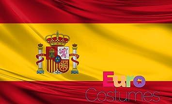 Bandera de España de poliéster gigante de 2, 4 x 1, 5 m: Amazon.es: Jardín