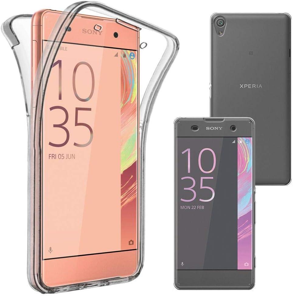 ebestStar - Funda Compatible con Sony Xperia XA, XA Dual Carcasa Gel Silicona Integral Ultra Claro, Protección Completa Case Cover, Transparente [Aparato: 143.6 x 66.8 x 7.9mm, 5.0]: Amazon.es: Electrónica