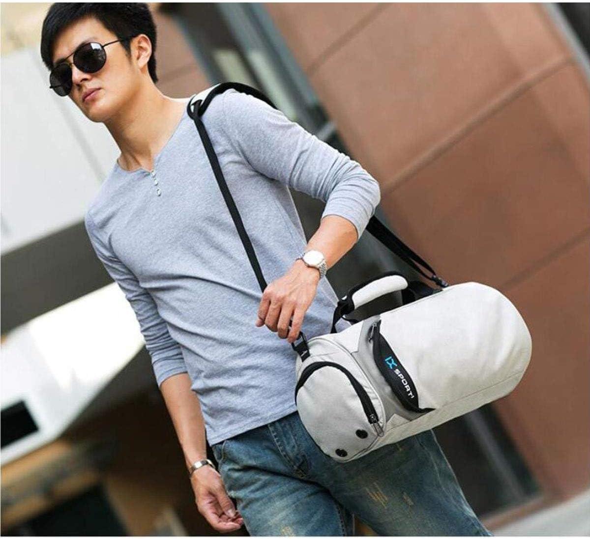 Color : Black, Size : 1810.410.4 inch. Black Large Size: 452626cm One Shoulder Casual Handbag Business Bag Dry and Wet Separation Business Travel Bag Kaiyitong Fitness Bag
