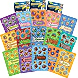 Dr. Stinky's Scratch N Sniff Stickers 15-Pack- Grape, Pickle, Banana, Blueberry, Chocolate, Pineapple, Onion, Popcorn, Race Car, Root Beer, Cherry, Bubblegum, Dirt, Grandpa, Birthday Cake, 405 Stickers