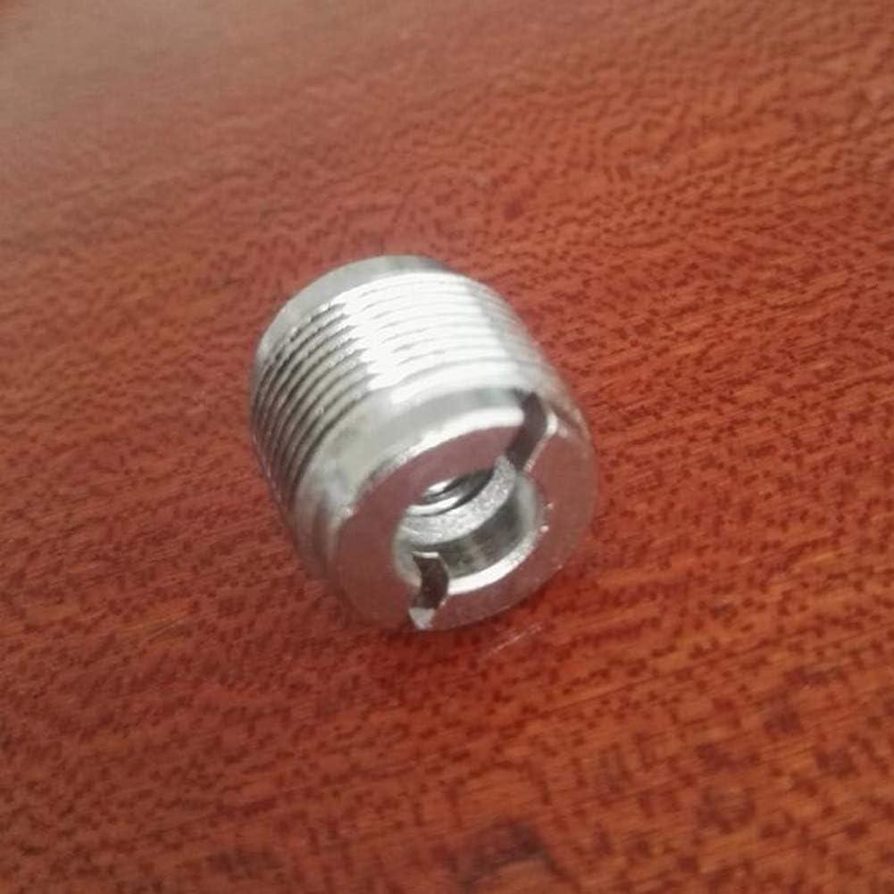 lasenersm 3 St/ück 5//8 Zoll m/ännlich auf 3//8 Zoll weibliche Gewindemutter Schraubenadapter Mikrofon Clip Halter Mutter Adapter f/ür Mikrofon Mikrofonst/änder