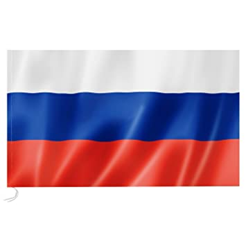 90*150cm Russische Flagge Russland Nationalflagge Flag 3*5ft National Fahne