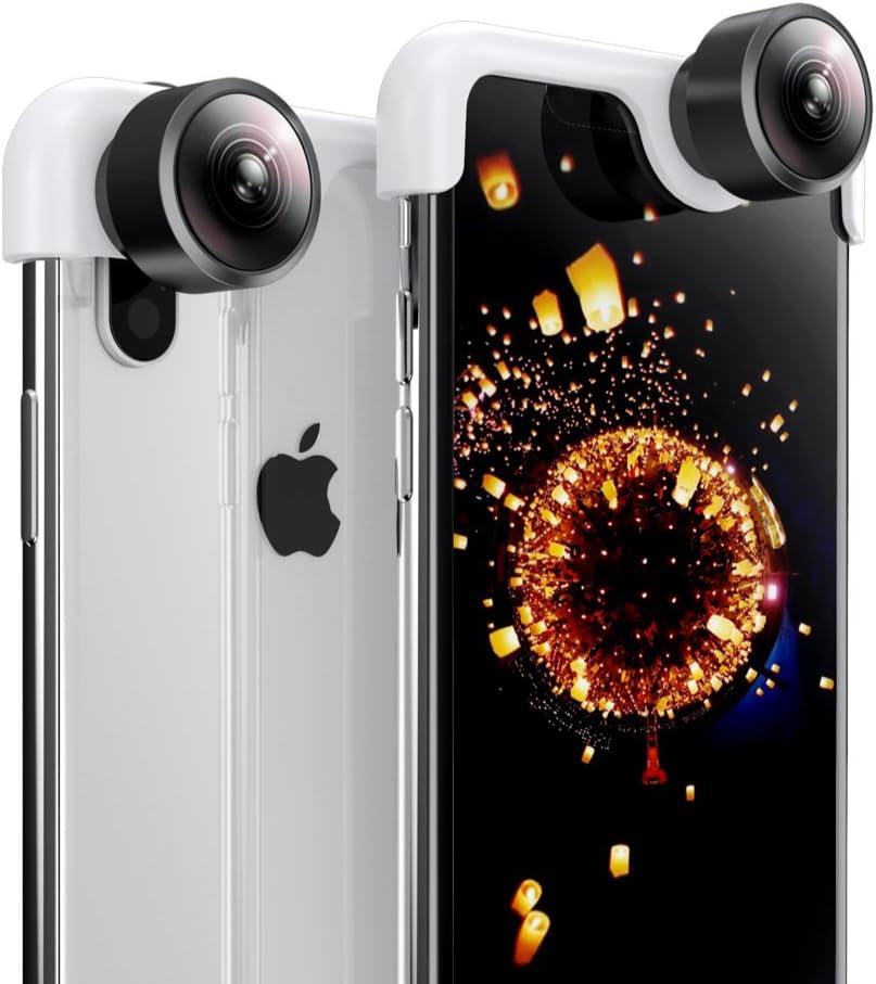 iPhone X PanoClip Snap-On Adattatore per iPhone per Obiettivo da 360 Gradi