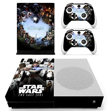 Reliable Xbox One X Darth Vader Skin Sticker Console Decal Vinyl Xbox Controller Faceplates, Decals & Stickers