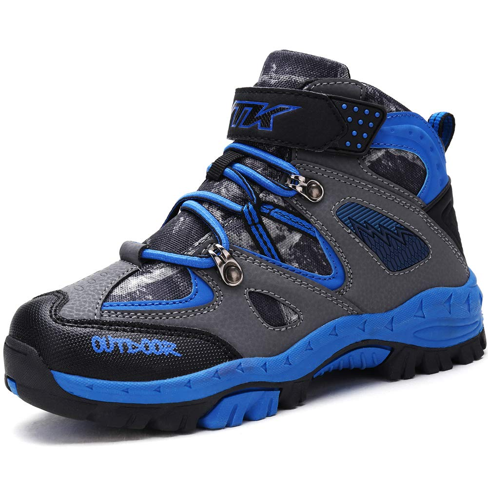 Kids Girls Hiking Shoes Kids Camp Shoes Hiker Shoes Climbing Shoes for Girls Sneakers Outdoor Walking Antiskid Hiking Boots Boys Girls Camp Shoes Boot Climbing Shoes for Girls Sneakers Outdoor