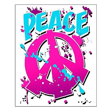 31bbd85e57 Small poster peace symbol sign splatter neon everything else jpg 466x466 Splatter  neon
