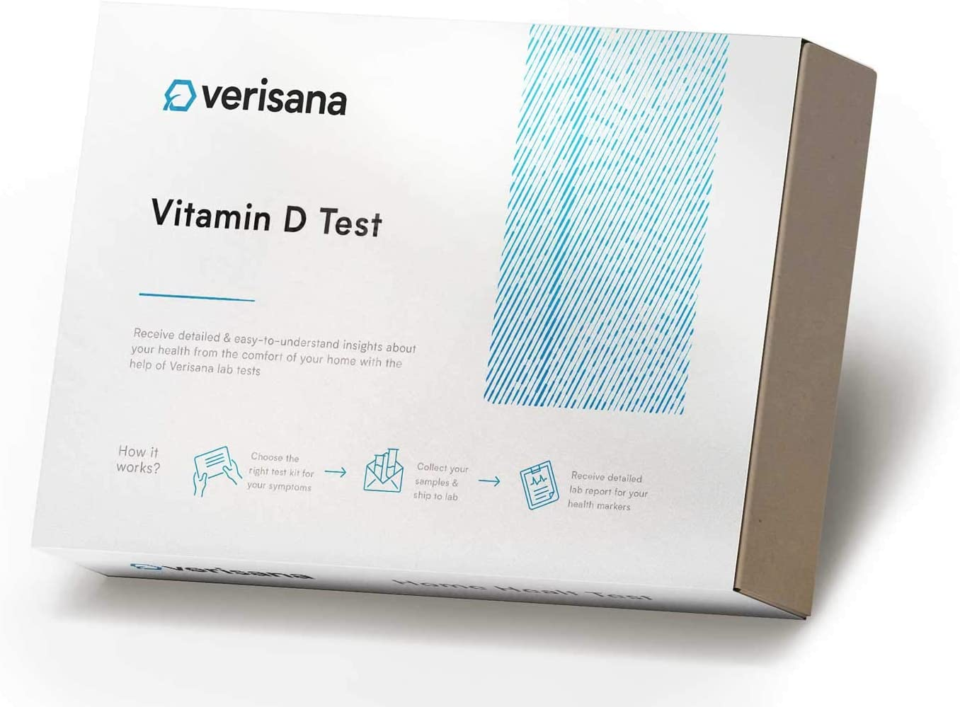 Verisana Vitamin D Home Health Test – Check Your Vitamin D Level Easily & conveniently at Home