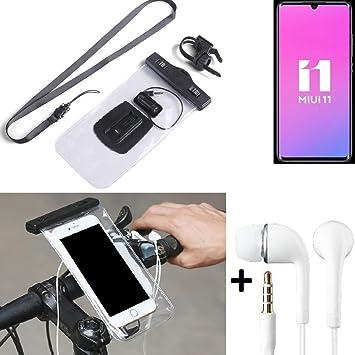 K-S-Trade® Para Xiaomi Mi Note 10 Pro Soporte De Bicicleta para ...