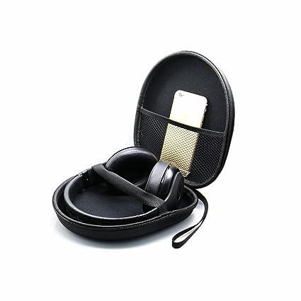 Hensych® Auriculares Funda de viaje para Bose QC15 QC3/Sony MDR-XB950AP MDR