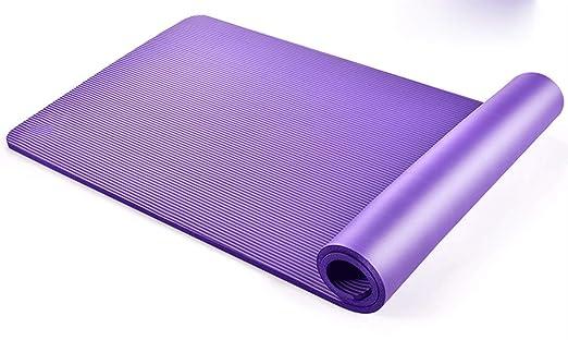 Flmn Yoga Mat Principiante Long Pad Hombres y Mujeres Home ...