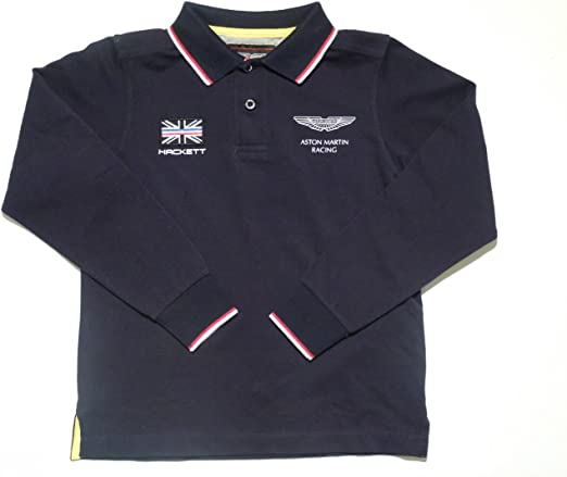 Hackett - Aston Martin Racing - Polo Manga Larga: Amazon.es: Ropa ...