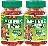 L'il Critters Immune C Plus Zinc & Echinacea - 60 ct - 2 pk