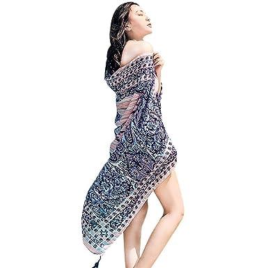 041325c674a1 Style Ethnique Écharpe En Mousseline De Étole Différentes En Soie Écharpes  Couleurs Vêtements Chics Tissu En