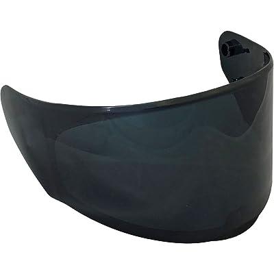LS2 Assault/Rapid/Stream Pinlock Ready Outer Face Shield (Dark Smoke): Automotive