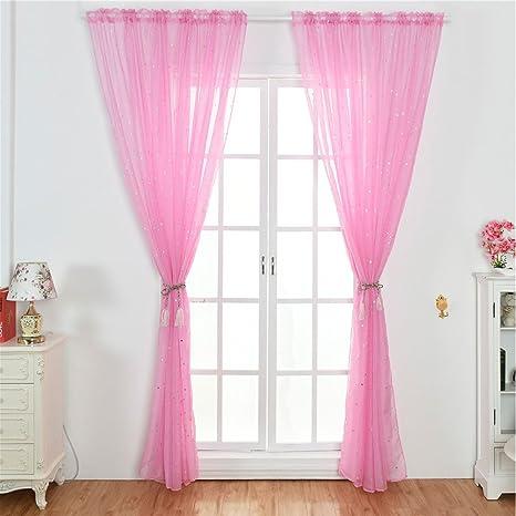Star a rete voile tulle finestra tenda in voile, moderno per camera ...