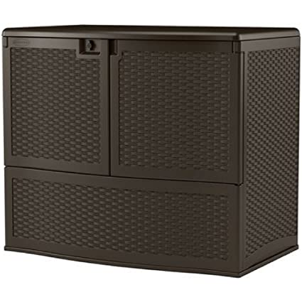 Amazoncom Sju Outdoor Storage Containers All Weather 195 Gal With