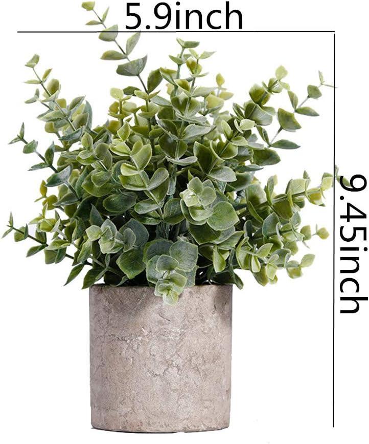 KunLS Plante Artificielle Exterieur Plante Artificielle Plante Interieur Table D/écoration Cuisine D/écoration Plantes Dext/érieur Plantes Artificielles
