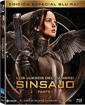 Los Juegos Del Hambre: Sinsajo Parte 1 Bd 2 Discos Blu-ray: Amazon ...