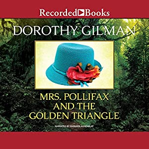 Mrs. Pollifax and the Golden Triangle Hörbuch