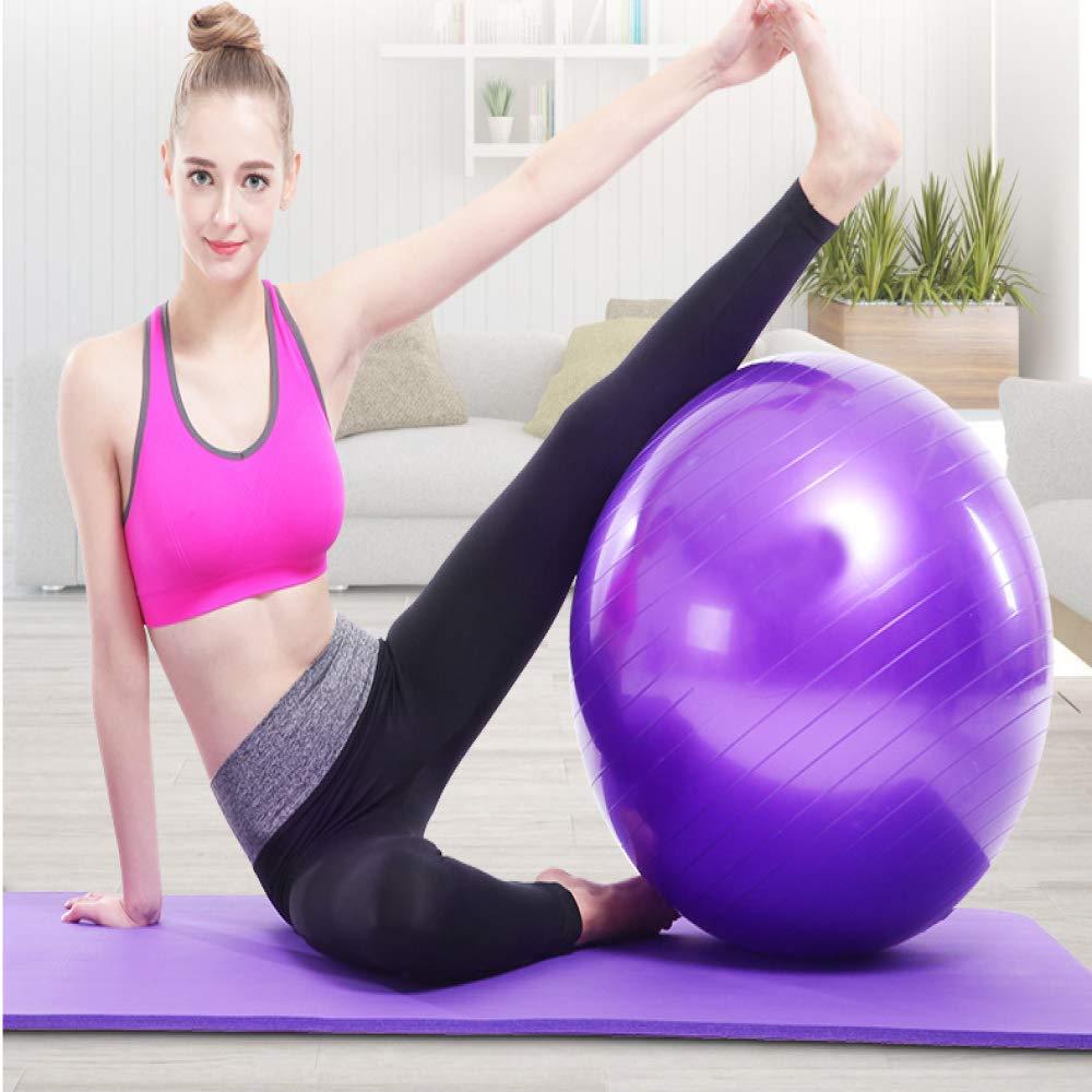 SMFL Ballon De Fitness Ballon De Yoga Anti-D/éflagrant /Épaissie 100Cm Ballon De Fitness Ballon De Yoga 2 100Cm