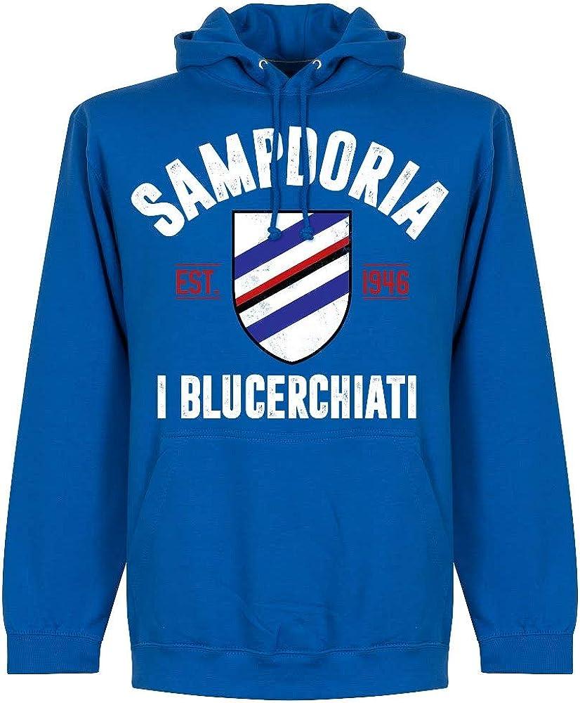 Retake Sampdoria - Sudadera con Capucha: Amazon.es: Deportes y ...