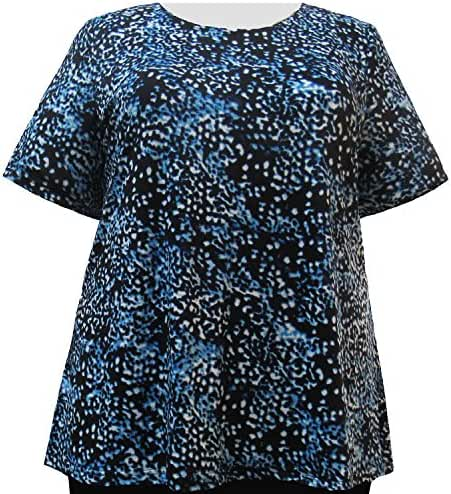 A Personal Touch Aquatic Women's Plus Size Top