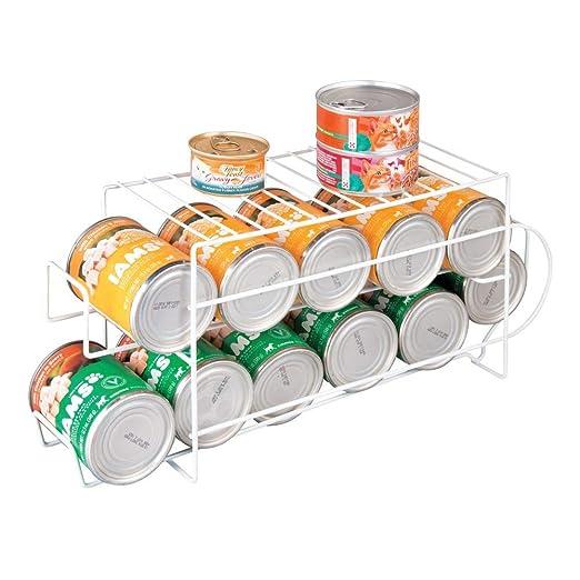 mDesign Organizador de frigorífico para alimentos - Moderno ...