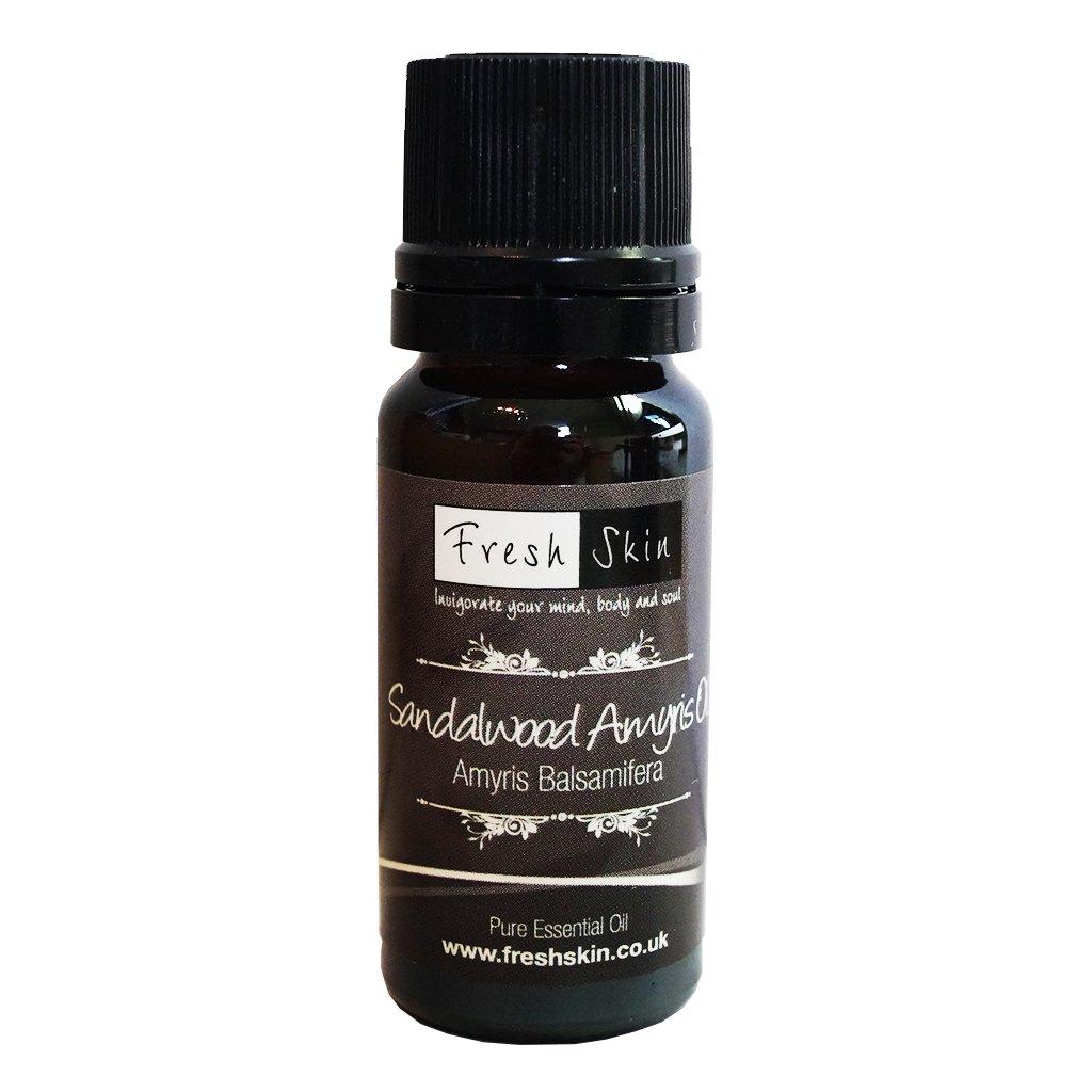 10ml Sandalwood Amyris Pure Essential Oil Freshskin