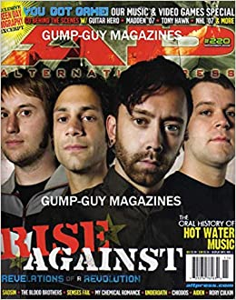 Alternative Press #220 AP November 2006 RISE AGAINST REVELATIONS OF