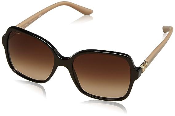 BVLGARI Bvlgari Damen Sonnenbrille » BV8164B«, braun, 504/13 - braun/braun