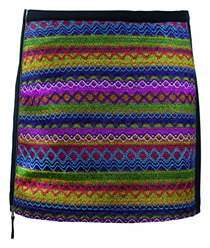 Skhoop Patsy Short Skirt, Bordeaux, Small by Skhoop