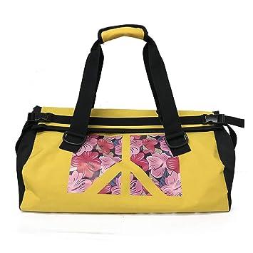SPOROWJD Fitness Hombro Gym Bag Floral para Bolsas De Entrenamiento  Impermeables Hombres Mujeres Bolsos De Viaje Yellow  Amazon.es  Deportes y  aire libre 770a2cd457c16