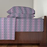 Roostery Sari 4pc Sheet Set Destination India by Edsel2084 Queen Sheet Set made with