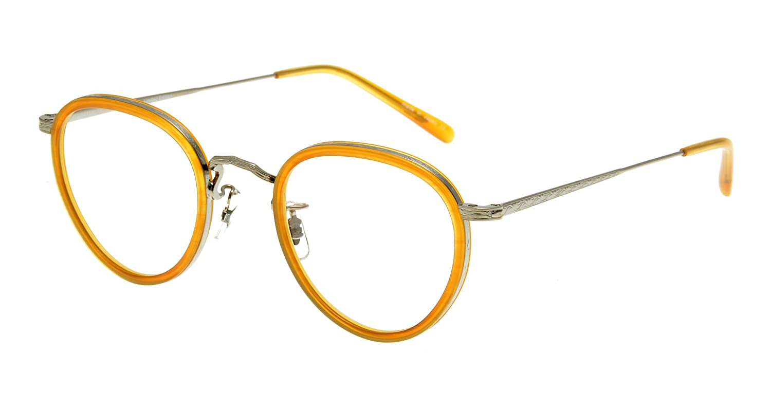 OLIVER PEOPLES MP-2。ヴィンテージ感あふれるイエローのフレーム。