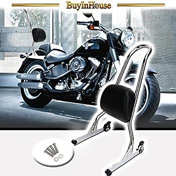 Motorcycle Sissy Bar Passenger Backrest Pad