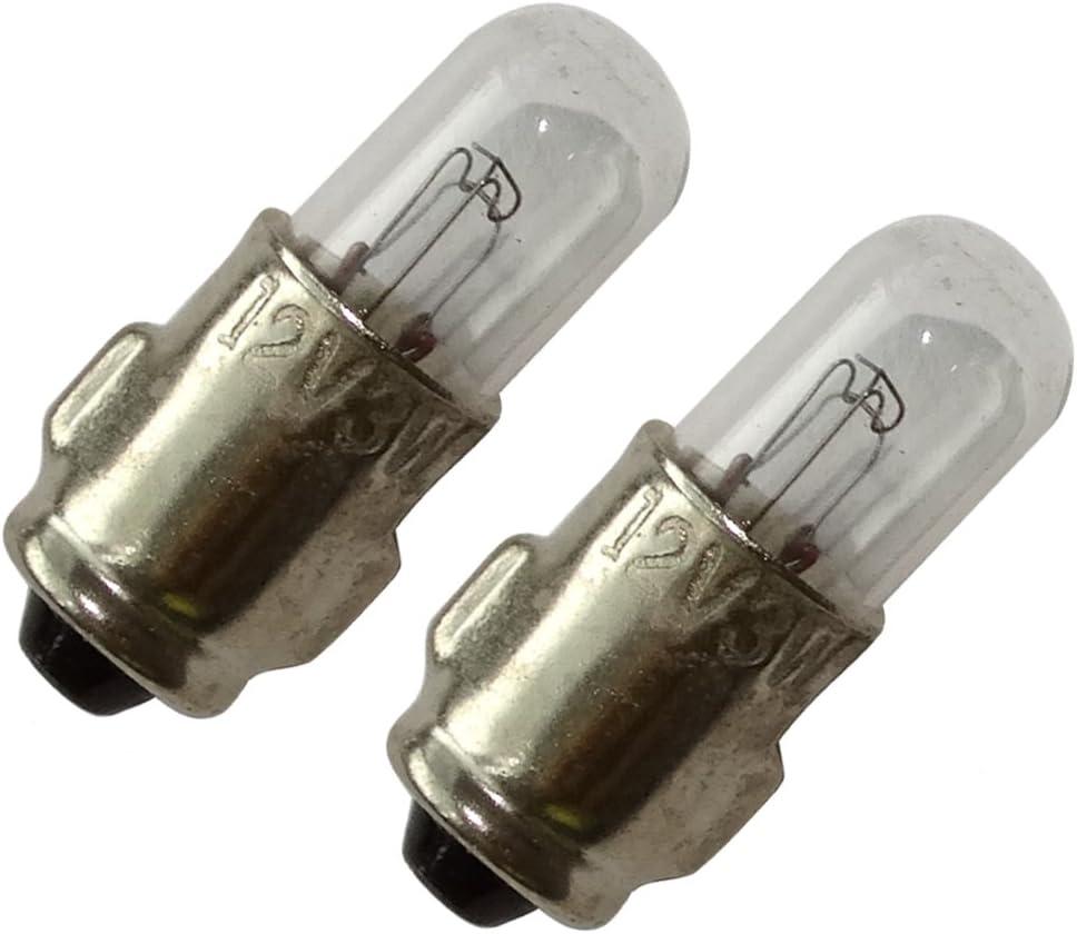 2x Bombillas H15 12V 15//55W C4742 AERZETIX