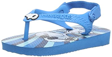 Havaianas Snoopy, Baby Boys' Walking Baby Shoes, Multicolor (Turquoise), 4