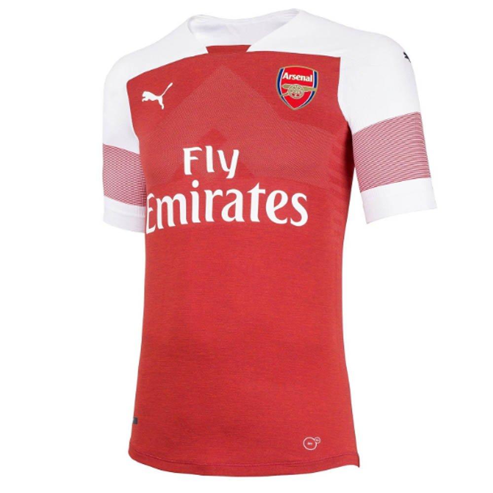 f03e7c2869e Amazon.com   2018-2019 Arsenal Puma Home Football Soccer T-Shirt Jersey  (Pierre Emerick Aubameyang 14)   Sports   Outdoors