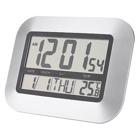 Asixx Multifuncional Despertador, Pantalla LCD, 1 Grupo de ...