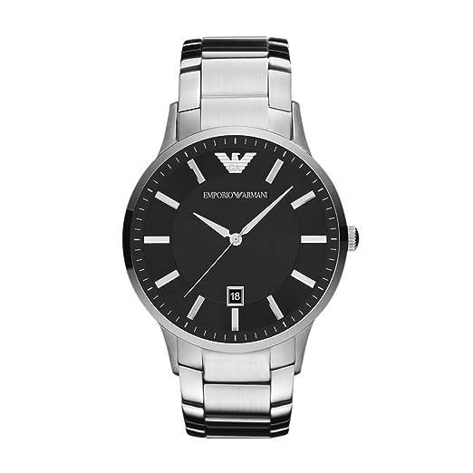 emporio armani men s watch ar2457 amazon co uk watches